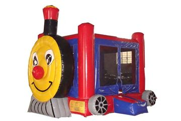 Train Themed Bounce HOuse Rental from wwww.itstime2bounce.com in Nashville TN