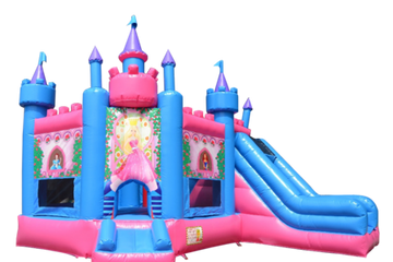 Magical Princess Castle Bounce House Rental Nashville TN from it's time 2 bounce