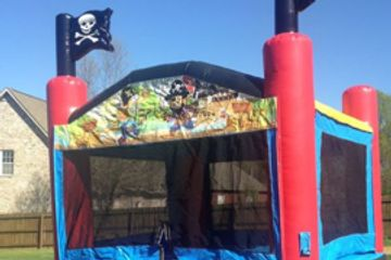 Pirate themed bounce house rental nashville tn from bouncehouserentalsnashvilletn.com