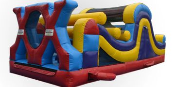 30' Extreme Obstacle Course Rental in Nashville TN from .www.bouncehouserentalsnashvilletn.com