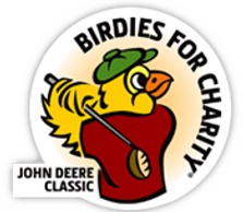 John Deere Classic's Birdies for Charity Logo