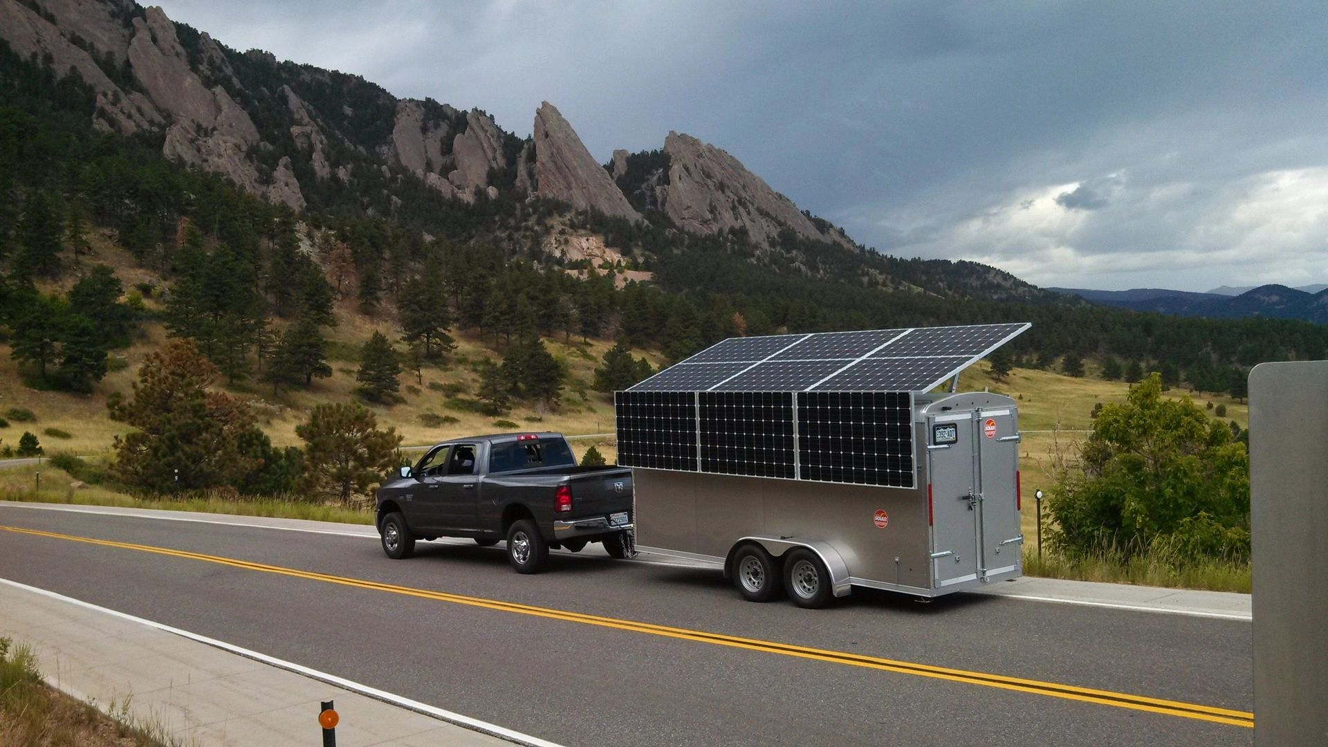 Colorado Solar Generator for farm and cabin and construction site