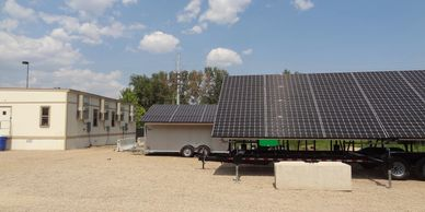 Solar Generator for construction site