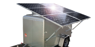 Solar Generator for farm and cabin and construction site