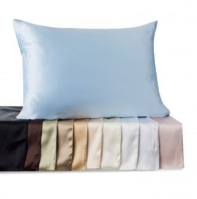 Satin pillowcase, will help keep your skin moisture and prevent wrinkles, dry skin and hair.