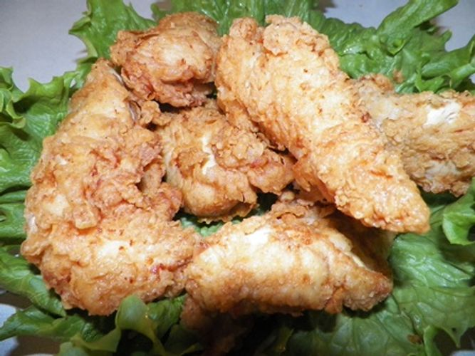 Fresh Chicken Tenderloin, Marinated in our special blend of spices and hand breaded