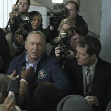 "Me and Kevin Spacey on ""House of Cards"""