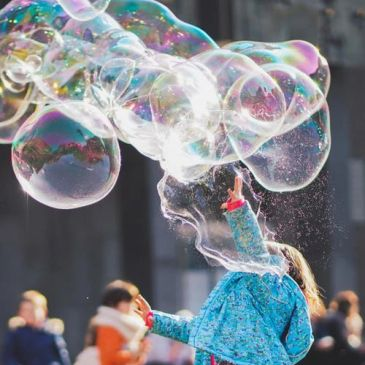 Bubble hire | josies face painting and entertaining | childrens party entertainers