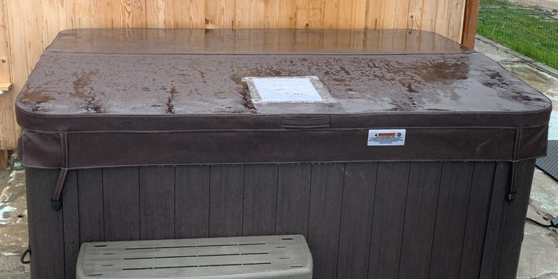 Newly added hot tubs using our same great water provided by Bullfrog Spas of Missoula