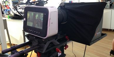 15mm rod based teleprompter