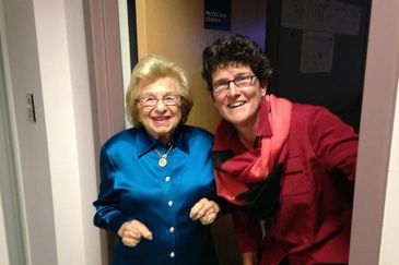 The Prompter Queen with Dr. Ruth Westheimer