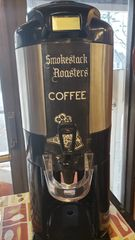 Smokestacks Roasters Coffee locally made from right here in Lunenburg, Ma. We now have coffee!