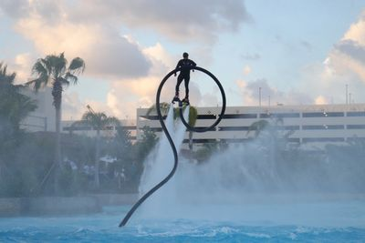 Aqua Flight does the craziest shows for hotel grand openings, music festivals, yacht charters, restaurants and more! Fort Lauderdale is lucky to have the best watersports at Aqua Flight. Come party with Aqua fLIGHT BOATS