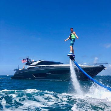 Flyboarding at Aqua fLIGHT IN fort Lauderdale Florida. Yacht charter with Aqua fLIGHT. hYDROLIGHT yacht charter. Best yacht parties in fort lauderdale and miami. Flyboard lauderdale. lauderdale flyboard. Miami best watersports fort lauderdale jetski rental. come party on the boat with aqua flight.