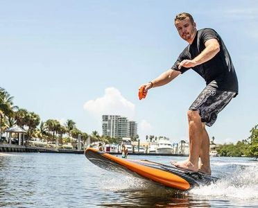 Purchase or rent a yujet electric surfboard in Miami or fort lauderdale watersports. Yujet surfboard