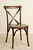 Brown Crossback chair