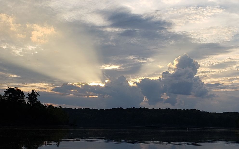 East Fork Lake Sunset