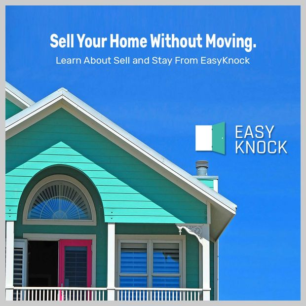 Sell And Stay Equity Release Solutions for Homeowners. EasyKnock Alternative Heloc Equity Loan.