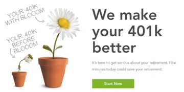 Get personalized suggestions on how to invest your current 401k in minutes.  Bloom wealth.