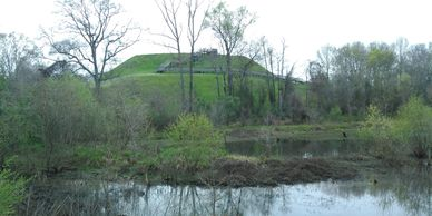 Great Temple Mound Ocmulgee Mounds National Historic Park