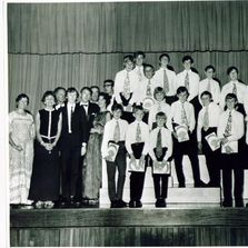 "1974 - the school choral production of ""Captain Noah and his floating zoo"""