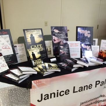 Photo of Janice Lane Palko's books.