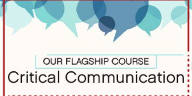 CorporateWise flagship course: Critical Communication