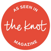 As seen in The Knot Magazine!