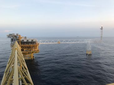 Digitalized offshore platform