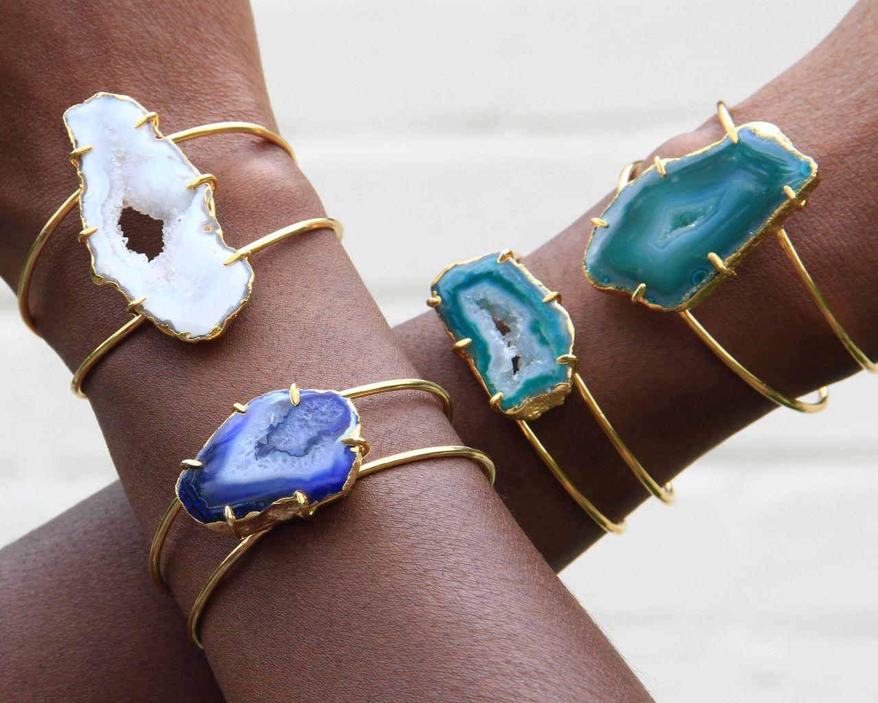 Love Collection Cuff Bracelets by YAA YAA LONDON