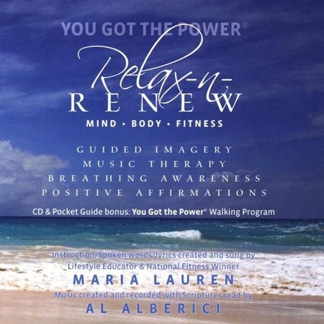 Relax-n-Renew through guided meditation and deep breathing to relieve stress and Renew You Power.
