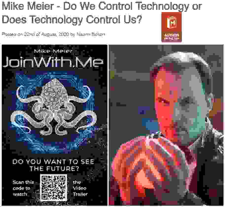 Interview with author Mike Meier on Manybooks