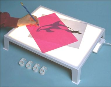 Me Sew Light Table for tracing embroidery, whole cloth quilts, sashiko, fabric painting,crayon art
