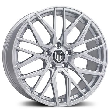 FOX BMA SIlver alloy wheel