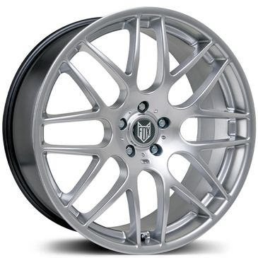 FOX DTM Silver alloy wheel