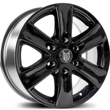 FOX FXC2 Black alloy wheel