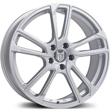FOX MBA Silver alloy wheel
