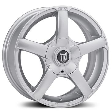 FOX VR1 Ice silver alloy wheels