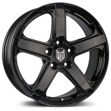 FOX VIPER Gloss black alloy wheel