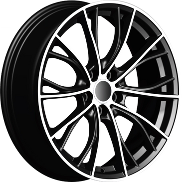 Bossini wheels. Bossini Light black polished mesh wheels.