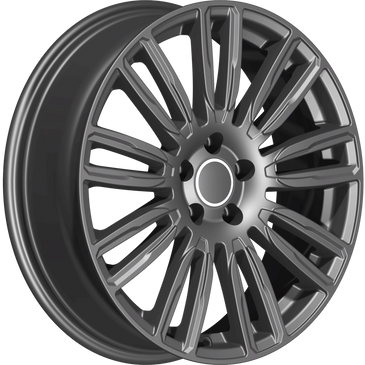 Bossini wheels. Bossini Mirage gunmatael grey wheels.