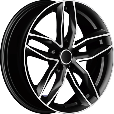 Bossini wheels. Bossini Must Black Polished twin 5 spoke wheels.