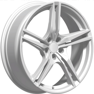 Bossini wheels. Bossini Racer silver twin 5 spoke wheels