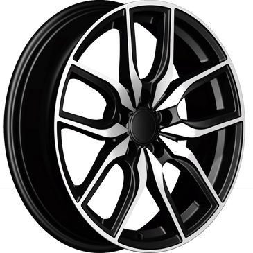 Bossini wheels.  Bossini Scorpion Black polished twin 5 spoke wheels.