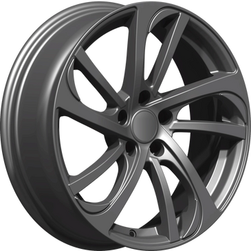 Bossini wheels. Bossini Storm gunmetal grey twin 5 spoke wheels