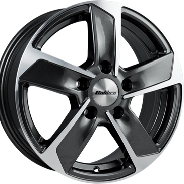 Calibre Freeway 5 spoke load rated commercial alloy wheels