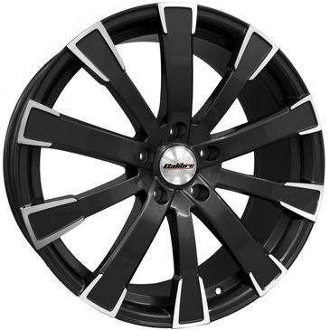 Calibre Manhatten black polished commercial load rated alloy wheels