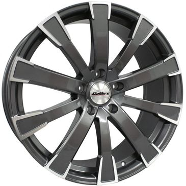 Calibre Manhatten gunmetal polished commercial load rated alloy wheels