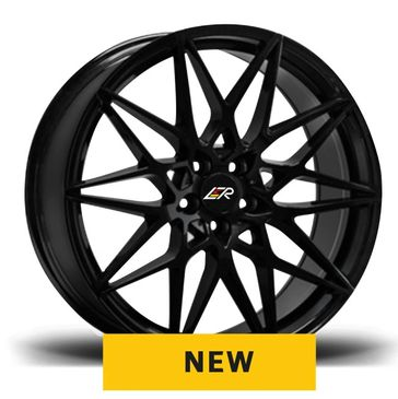 LMR Toria gloss black mesh wheels