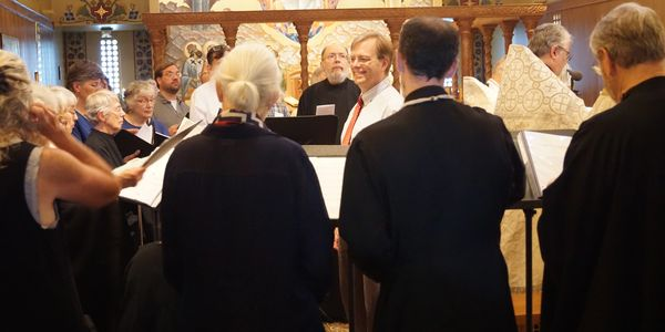 Choir in Holy Wisdom Church